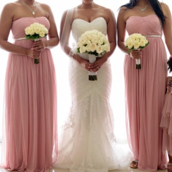 Ballet Pink Bridesmaid Dresses